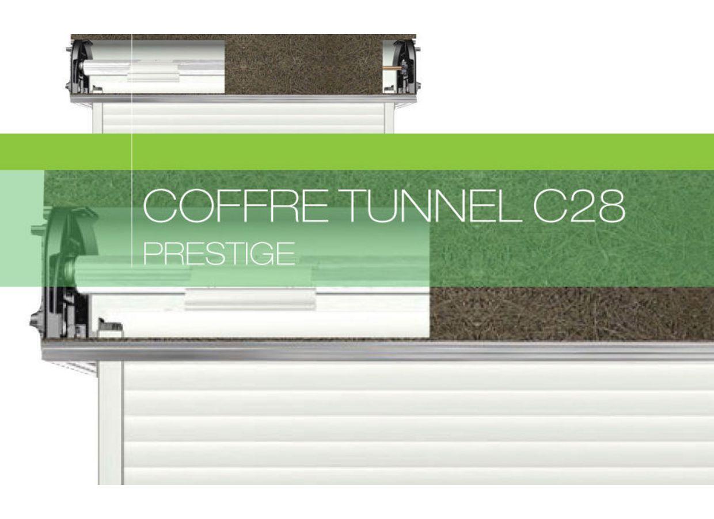 Coffre Tunnel C28 Avec Volet Roulant Prestige Fen Tres