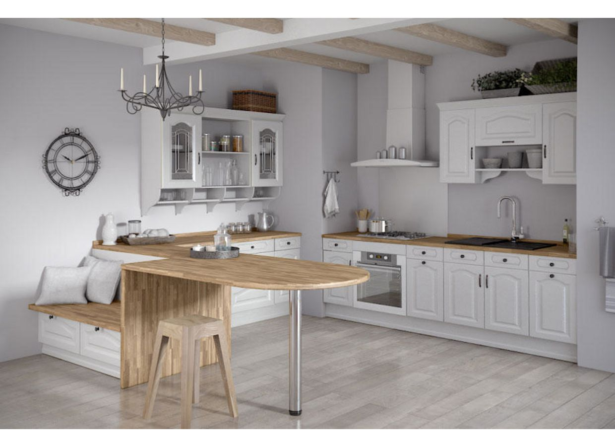 Meuble bas de cuisine blanc elements bas pop meuble bas - Lapeyre catalogue portes ...