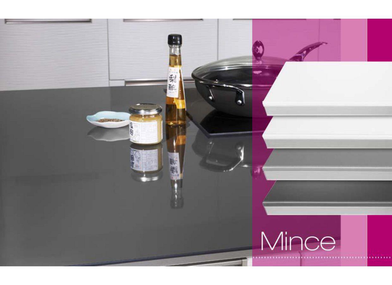 plan de travail mince sur mesure cuisine. Black Bedroom Furniture Sets. Home Design Ideas