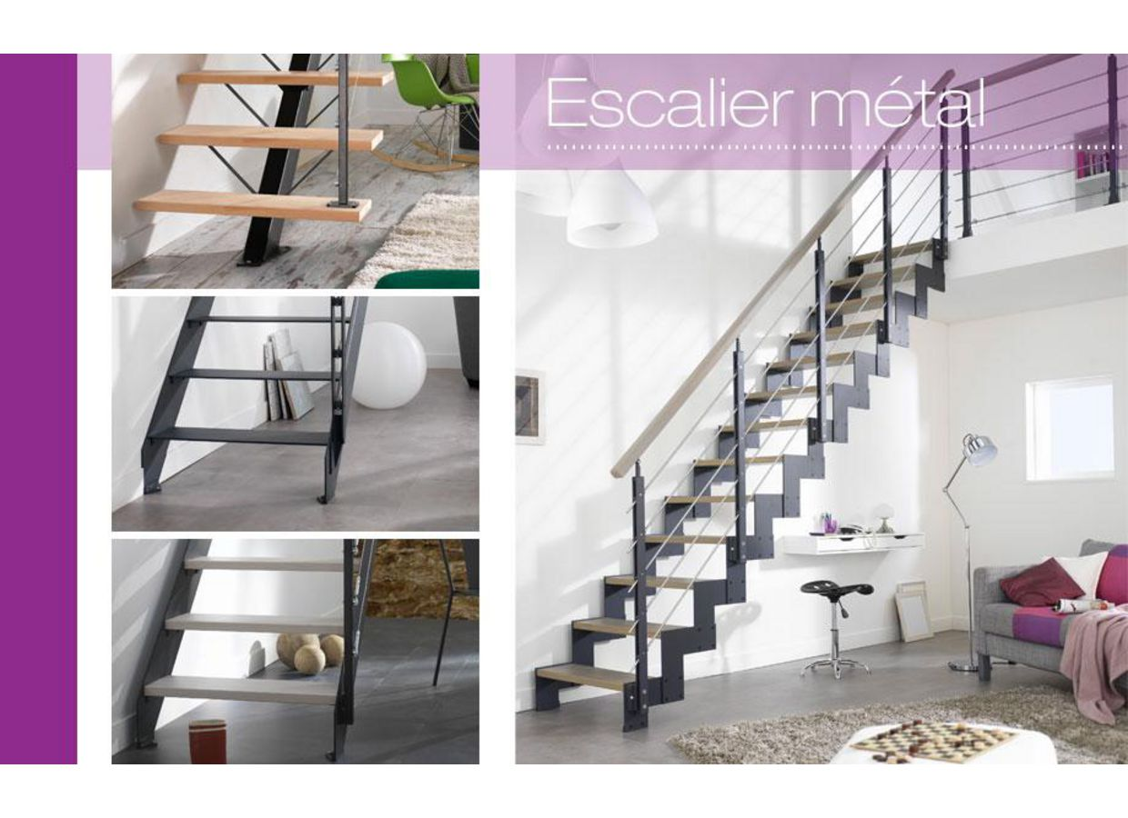 Lapeyre escalier fashion designs for Rampe d escalier lapeyre