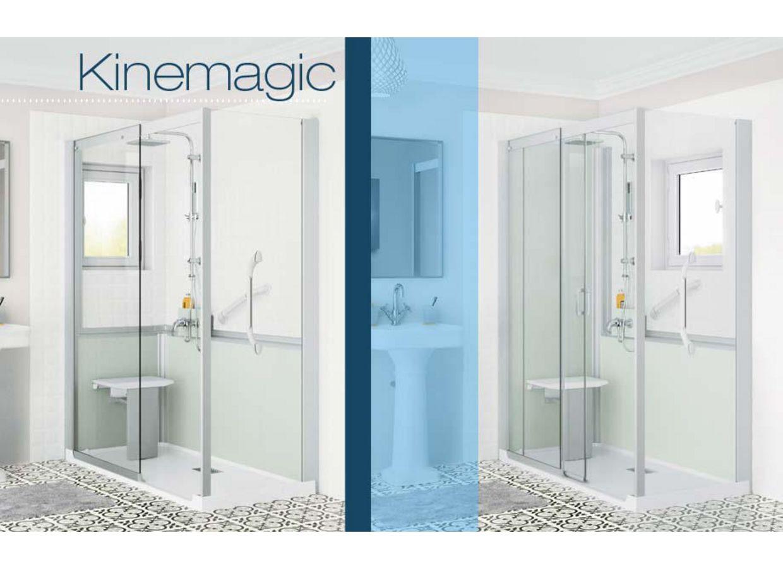 Concept de remplacement de baignoire kinemagic salle de for Concept usine salle de bain