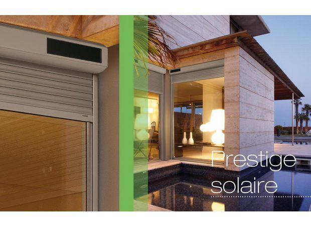 volets roulants prestige solaires fen tres. Black Bedroom Furniture Sets. Home Design Ideas