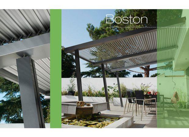 tonnelle aluminium boston ext rieur. Black Bedroom Furniture Sets. Home Design Ideas