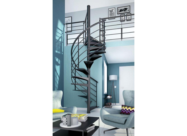 escalier en spiral nova sur mesure escaliers. Black Bedroom Furniture Sets. Home Design Ideas