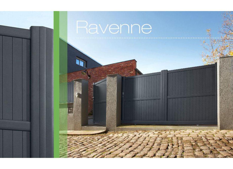 Portail Coulissant Aluminium Ravenne Ext Rieur