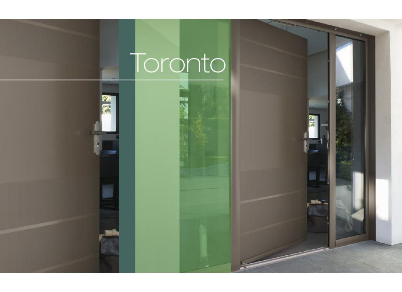 Porte dentrée Toronto Aluminium  Portes