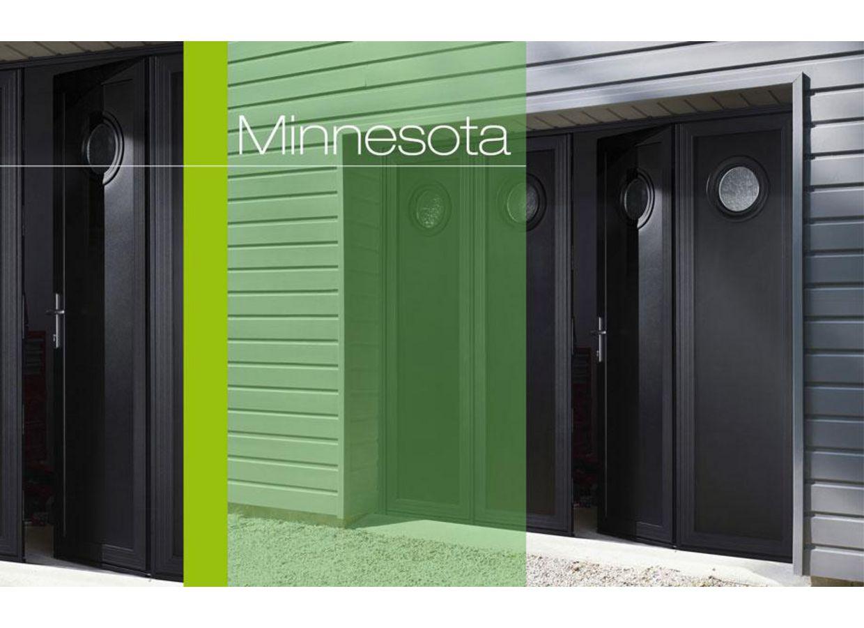 Porte De Garage Minnesota Pliante Aluminium Ext Rieur