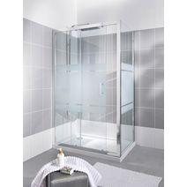 Paroi de douche grand espace line salle de bains - Paroi de douche lapeyre ...