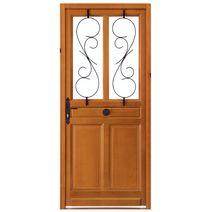 Les portes d entr e en bois Portes d entree lapeyre