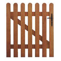 La poign e de porte anti pince doigts for Portillon en bois