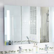 miroirs spots et armoires de toilette salle de bains lapeyre. Black Bedroom Furniture Sets. Home Design Ideas