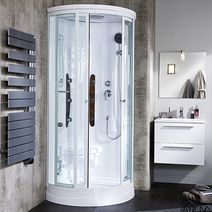 Douche salle de bains lapeyre - Porte coulissante salle de bain lapeyre ...