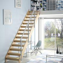 escalier tous nos escaliers lapeyre. Black Bedroom Furniture Sets. Home Design Ideas