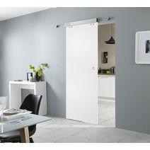 Porte en verre sable portes - Systeme coulissant en applique ...