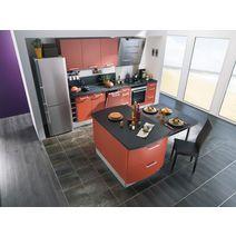 plinthe sol stratifi pvc ch ne min ral gris sols murs. Black Bedroom Furniture Sets. Home Design Ideas