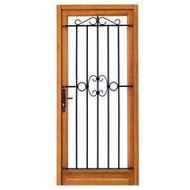 free les portes d entr e en bois lapeyre porte d entree bois with cimaise bois lapeyre. Black Bedroom Furniture Sets. Home Design Ideas