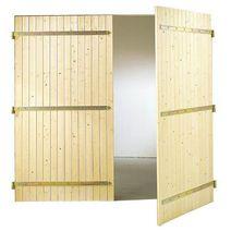 Portes de garage ext rieur lapeyre for Porte de service bois lapeyre