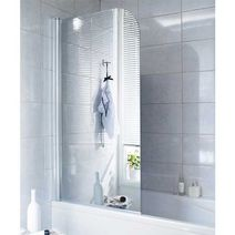 Pare baignoire cran de baignoire salle de bains lapeyre - Ecran de baignoire coulissant ...