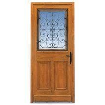 Les portes d entr e en pvc - Porte exterieur lapeyre ...