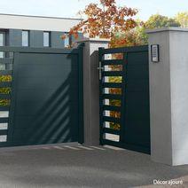Portillon Aluminium Sicile Gamme Confort Ext Rieur Jardin