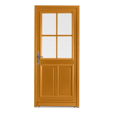 Porte d 39 entr e chaumont bois exotique menuis portes - Porte exterieur lapeyre ...