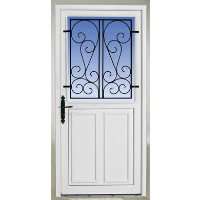 Largeur standard porte d entree maison design mail for Porte d entree largeur 120