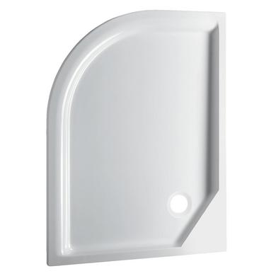 Receveur Horizon acryl blanc extraplat à encastrer L.120 x l.90 version droite