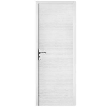 Bloc-porte VARIATION blanc structuré Huisserie 90 - H.204 x l.63 gauche