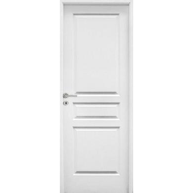 Bloc porte postform droite parement vein bois portes for Hauteur bloc porte standard