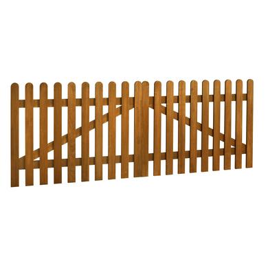 Portail battant bois manosque ext rieur - Fabriquer barriere bois ...