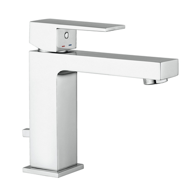 Mitigeur lavabo petit modèle DIAMANT inox