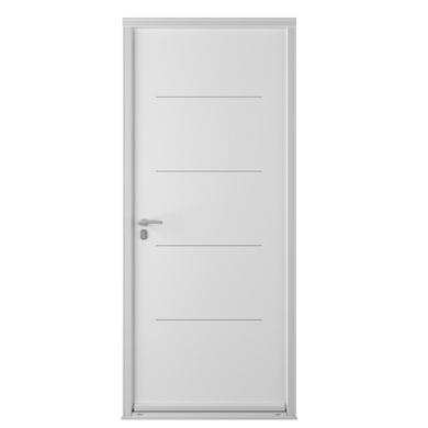 Porte d 39 entr e nikita acier portes for Largeur porte d entree standard