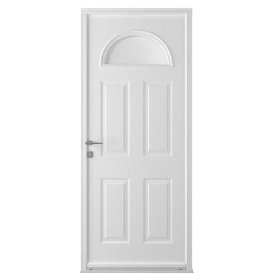 Porte d 39 entr e isis acier portes for Largeur porte d entree standard