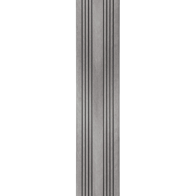 Lame de finition aluminium pour ESPACE et OPTIMA+ noir l.8.1 x L.200
