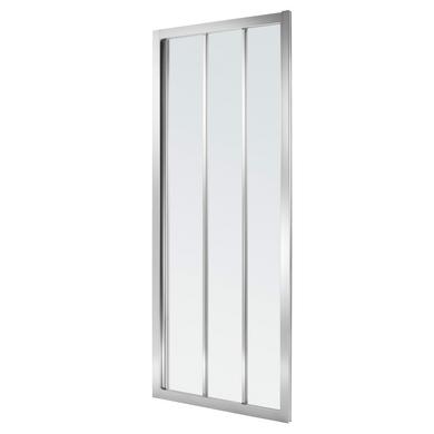 Acc s de face par porte coulissante vogue salle de bains - Porte de douche coulissante 3 volets ...