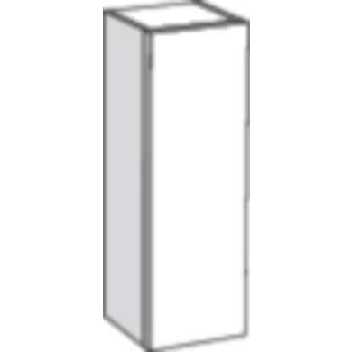 demi colonne de salle de bain l 40 cm evasion bain