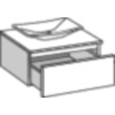 Meuble sous vasque ou de rangement L.90 cm EVASION - Bain