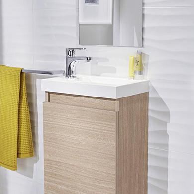 meuble lave mains rangement lapeyre. Black Bedroom Furniture Sets. Home Design Ideas