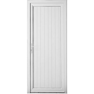 Porte de service ol ron pvc portes for Porte de service aluminium