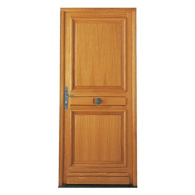 Porte d 39 entr e saumur ch ne menuis portes for Porte d entree lapeyre