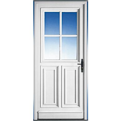Porte d 39 entr e sully pvc portes for Largeur porte d entree standard