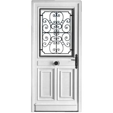 Porte d 39 entr e mansart pvc portes - Dimension porte d entree standard ...