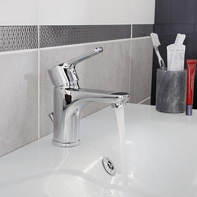 robinets de lavabos salle de bains lapeyre. Black Bedroom Furniture Sets. Home Design Ideas