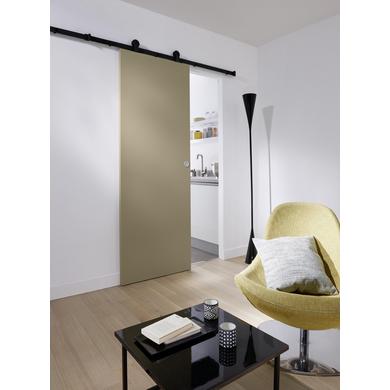 Syst me coulissant harlem en applique pour portes en bois portes - Systeme coulissant pour pose applique porte ...