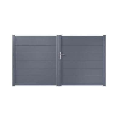Portail Battant Aluminium Genova Ext Rieur