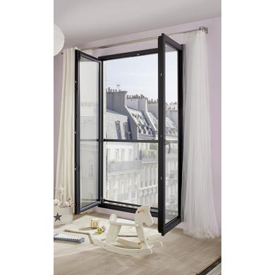 Appui de fenêtre ACIER CLARA Gris 7016S pour Tableau H.93 x l. 91 à 107