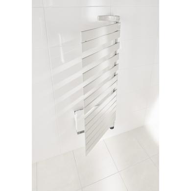 Sèche-serviettes électrique soufflant TWIST AIR D 750/1000W blanc H.134.4 X l.55