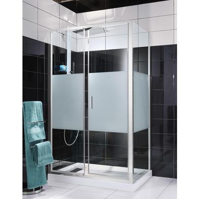 Porte de douche pivotante rubis salle de bains for Lapeyre porte de douche