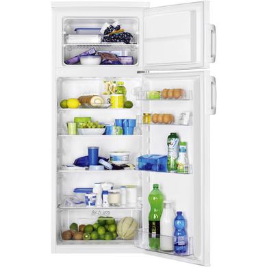 Réfrigérateur congélateur double porte pose libre blanc Faure FRT27102WA