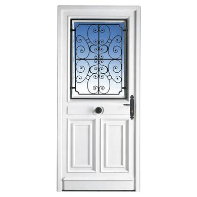 Porte d'entrée *** PVC Mansart Ud 1.4 sans barillet H.200 x l.90 droite